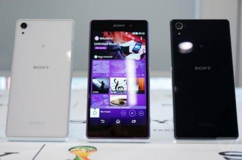 Sony ra mắt bộ đôi điện thoại, máy tính bảng Xperia Z2