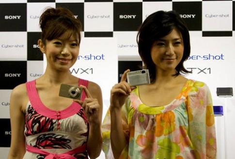 Sony ra mắt hai anh tài WX1 và TX1