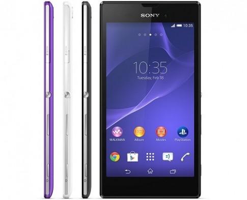 Sony ra mắt smartphone 5,3 inch mỏng nhất thế giới