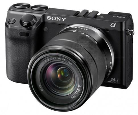 Sony ra NEX-7 kính ngắm EVF và NEX-5N