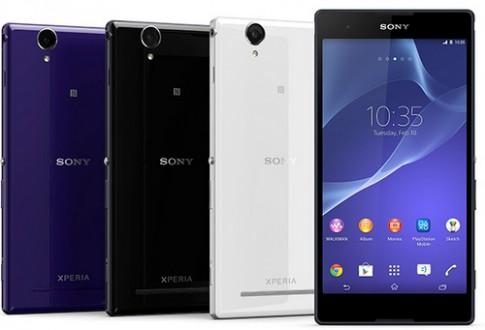 Sony ra phablet 6 inch hỗ trợ 2 SIM
