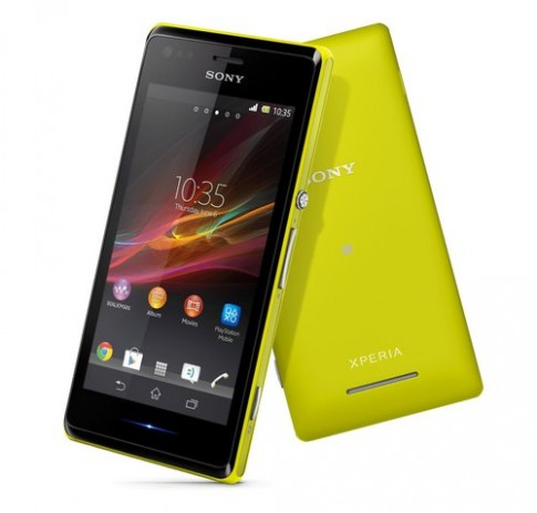 Sony ra smartphone Xperia M tầm trung, hỗ trợ 2 SIM