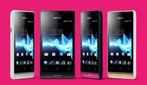 Sony ra smartphone Xperia Miro