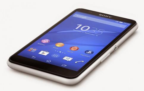 Sony ra Xperia E4 màn hình lớn, pin lâu chạy Android 5.0