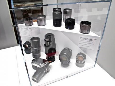 Sony sẽ thêm 7 ống kính cho máy NEX năm nay