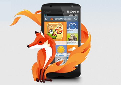 Sony tham gia sản xuất điện thoại Firefox
