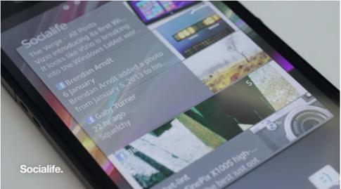 Sony thay thế Timescape trên điện thoại Xperia