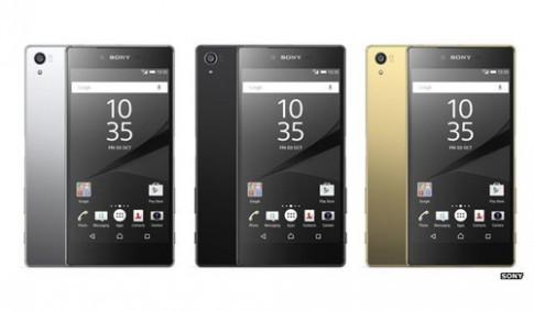 Sony trình làng Z5 và Z5 Compact với camera 23 'chấm'