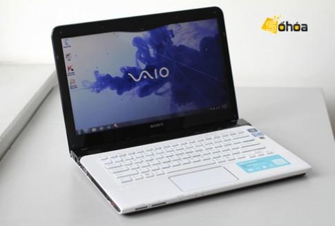 Sony Vaio E 2012 có mặt tại VN