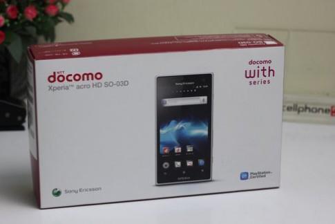 Sony Xperia Acro HD chống nước, chống bụi về VN