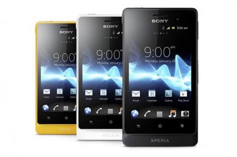 Sony Xperia go có giá khoảng 7 triệu đồng tại Anh