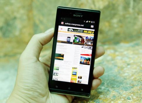 Sony Xperia J chính hãng giá gần 7 triệu đồng