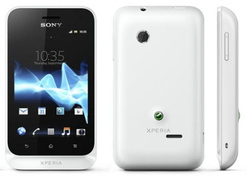 Sony Xperia Tipo chay Android 4.0 gia 3 trieu dong