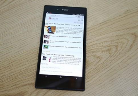 Sony Xperia Z Ultra bất ngờ xuất hiện tại Việt Nam