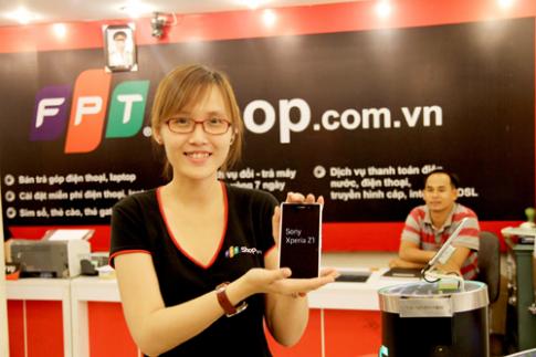 Sony Xperia Z1 giá chỉ 16,99 triệu đồng tại FPT shop