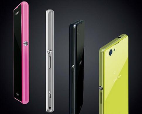 Sony Xperia Z1 mini chụp hình 20 megapixel sắp ra mắt