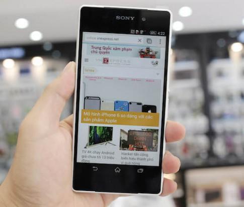 Sony Xperia Z2 chính hãng bắt đầu bán
