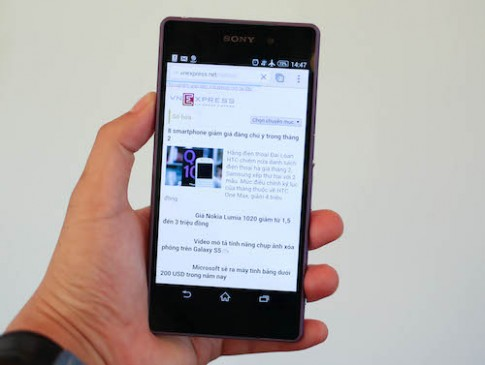Sony Xperia Z2 về Việt Nam trong tháng 4
