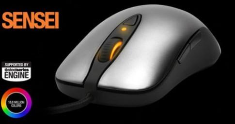 SteelSeries giới thiệu chuột chơi game tích hợp chip ARM