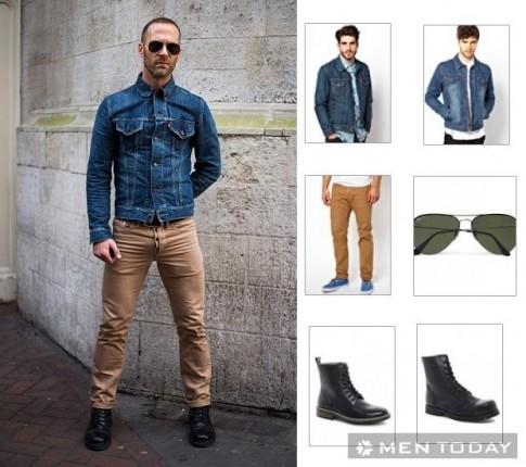 Streetstyle nam tính và quyến rũ cùng denim của các quý ông châu Âu
