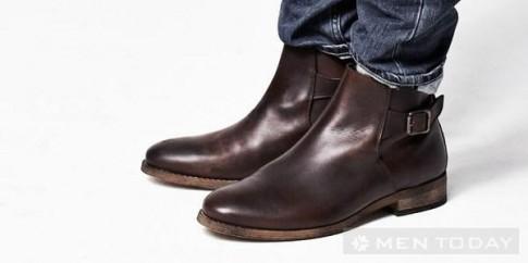 Sự trở lại của Chelsea boots cho nam giới