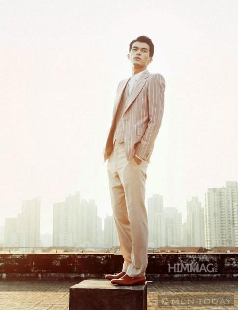 Suit pastel ngọt ngào cho chàng mùa Thu