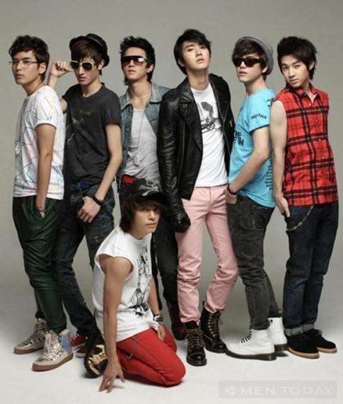 Super Junior và những sắc màu thời trang