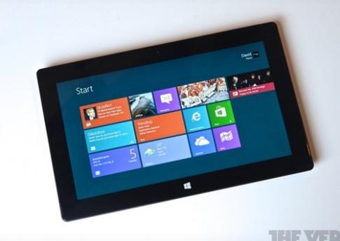 Surface Pro thế hệ 2 có chân đế linh hoạt hơn