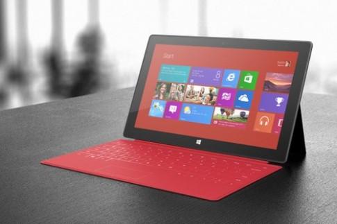 Surface RT 64 GB bán cùng ngày với Surface Pro