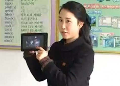 Tablet Android do Triều Tiên sản xuất lộ diện