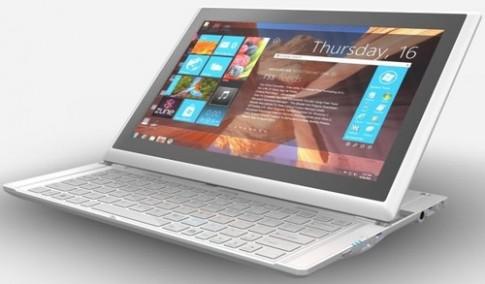 Tablet bàn phím trượt của MSI giá 1.100 USD