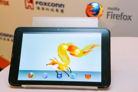 Tablet giá rẻ chạy Firefox OS sắp được trình làng