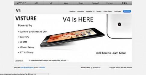 Tablet Trung Quốc màn hình Retina, mạnh ngang iPad 2012