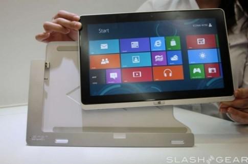 Tablet Windows 8dau tien cua Acer ban cuoi thang gia 800 USD