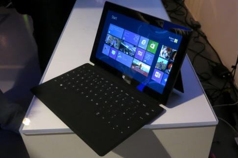 Tablet Windows RT có thể chạy ứng dụng Windows truyền thống