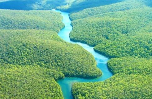 Tại sao các con sông đều uốn khúc mà không chảy theo một đường thẳng?