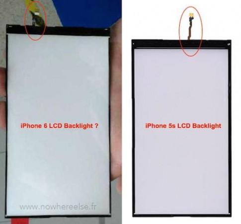 Tấm nền màn hình 4,7 inch trên iPhone 6 lộ diện