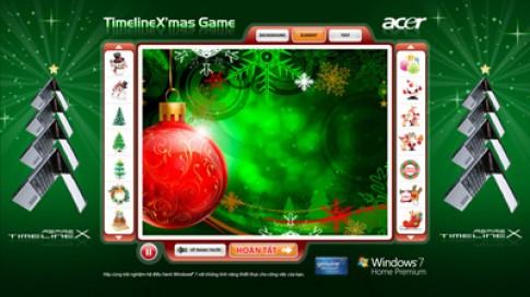 Tặng ổ cứng 500GB khi mua laptop Acer TimelineX