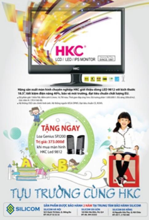 Tặng quà khi mua màn hình 18,5 inch LED HKC 9812