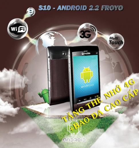 Tặng thẻ nhớ 4GB cho điện thoại Q-mobile S10