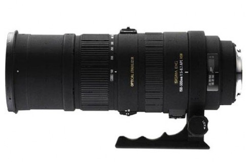 Telezoom Sigma 150-500 mm cho Sony va Pentax
