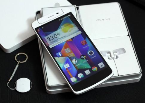 Tháo rời smartphone 6 inch Full HD Oppo N1