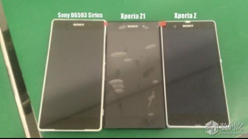 Thêm hình ảnh điện thoại cao cấp sắp ra mắt của Sony