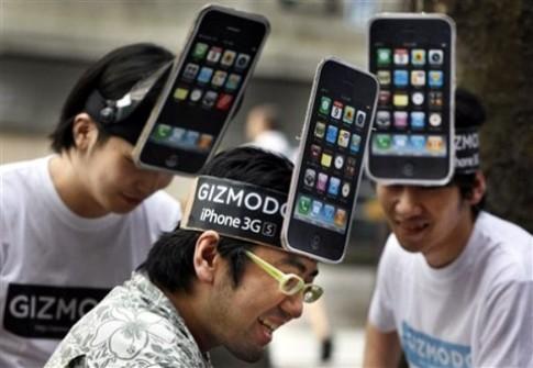 Thị phần iPhone tiếp tục tăng mạnh