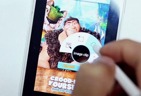 Thiết kế e-card trên Samsung Galaxy Note 4