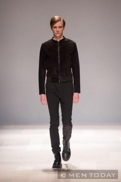 Thời trang nam mùa thu 2013 của Thomas Baslint từ tuần lễ thời trang Toronto