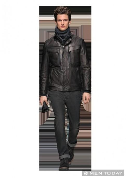 Thời trang nam thu đông 2013-14 từ Hugo Boss