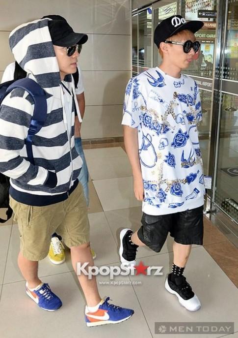 Thời trang sân bay của sao nam xứ Hàn đầu tháng 7