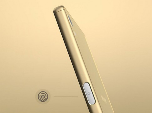Thử cảm biến vân tay trên Sony Xperia Z5