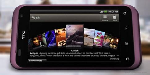 Thử pin điện thoại HTC Rhyme